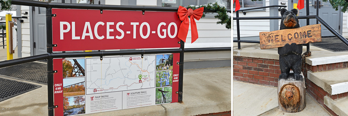 Places-To-Go Sign